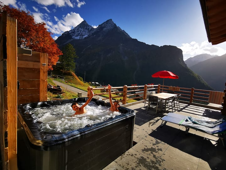 Alpen Chalet & Spa - La Forclaz, Evolène