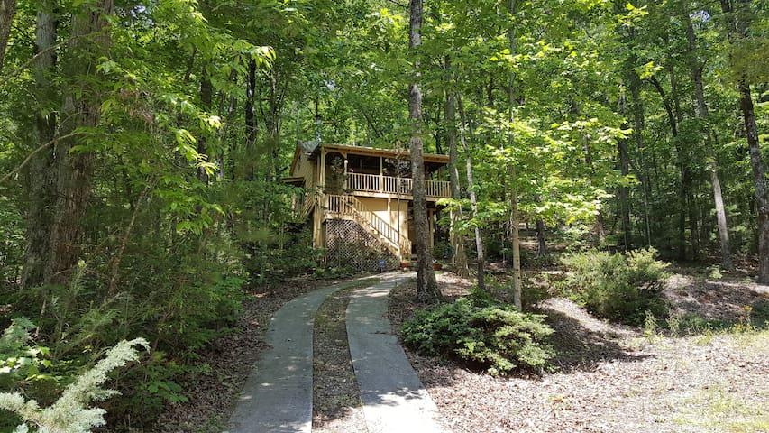 Jeffrey's Hideaway Treehouse! - Sautee Nacoochee
