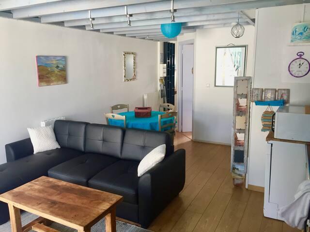 Appartement 5pers St-Martin 30 métres de la mer - Bréhal - Appartement