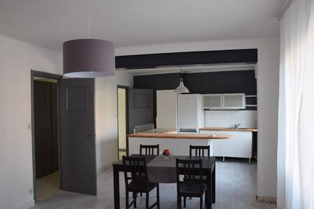 Appt 70m² proximité métro, commerces, activités - Lille - Apartamento