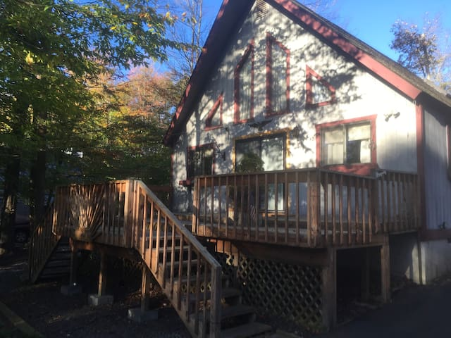Cozy 3 bedroom loft in the heart of the Poconos