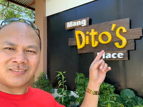 Mang Ditos sted Bed and breakfast