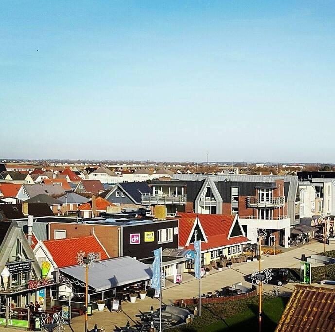 Deel centrum dorp.