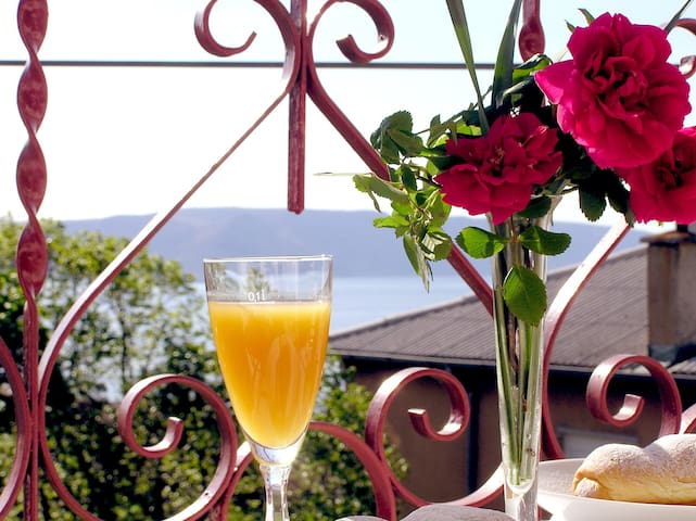Holiday House  with Sea View, 300m from the Sea