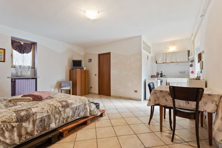 Appartement confortable à Frazione Sessant à Monferrato avec jardin