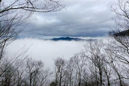 SKY CABIN: New Listing Pricing, Luxury Fully Stock - Maggie Valley - Mökki