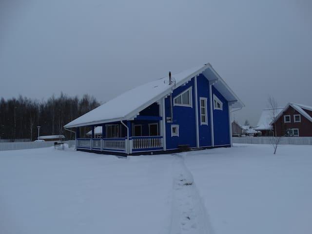 Коттеджный комплекс Онтарио Синий дом - Naro-Fominsky District - Talo