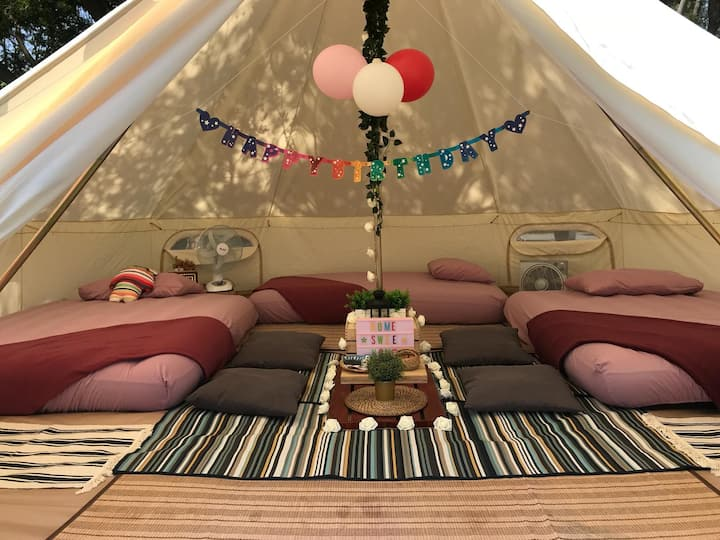 Glamping kaki-Singapore-Superior Large Bell Tent