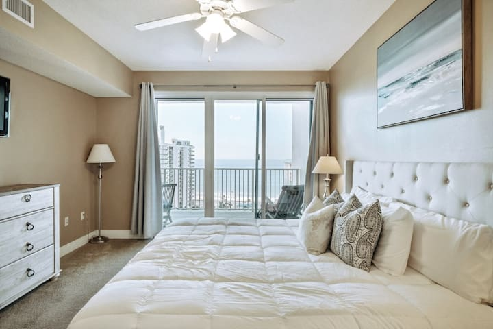*Seascape Retreat* Gulf View! 14th Floor Unit!