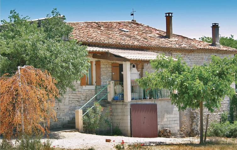 Semi-Detached with 2 bedrooms on 58 m² in Barjac
