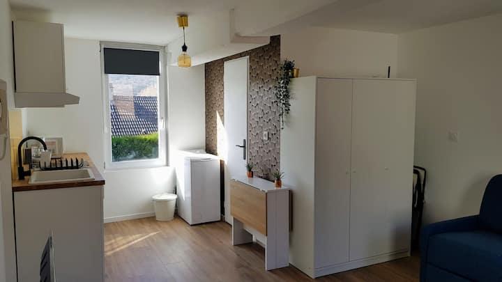 Le FleuryLège - Quiet studio near Rouen