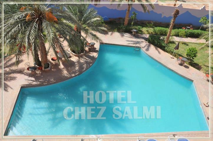 Decouvrez la charme d'hotel chez salmi