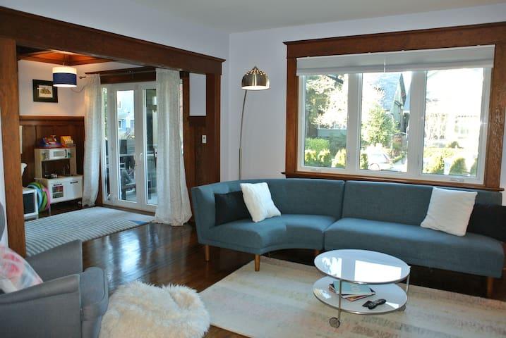Kitsilano Character Home - Vancouver - Hus