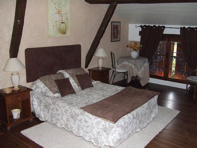 Nice and peaceful room in house of character - Monclar-de-Quercy - Talo