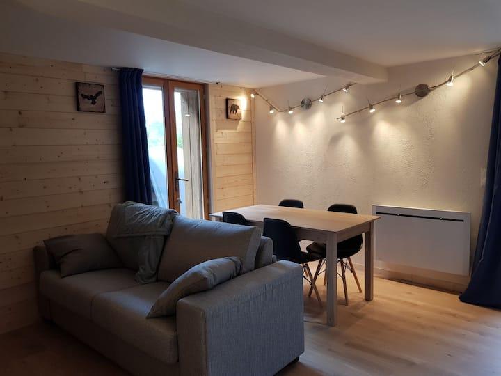Spacieux appartement 40m2 dans chalet savoyard