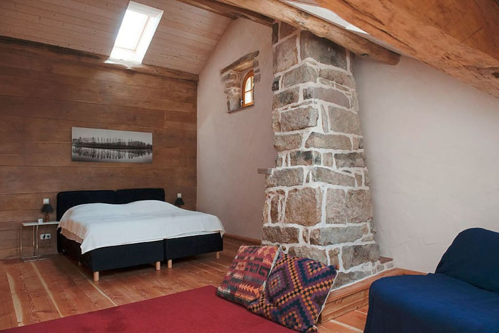 Your room:  La Grande, big room for up to four persons