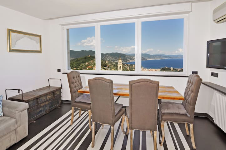 Living room with view!