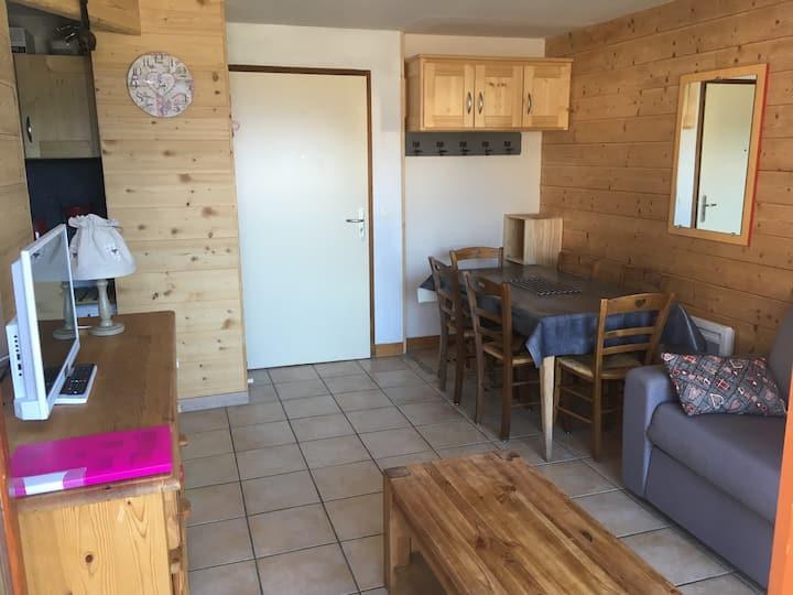 Appartement Aussois, 3 pièces 6 couchages, 3*