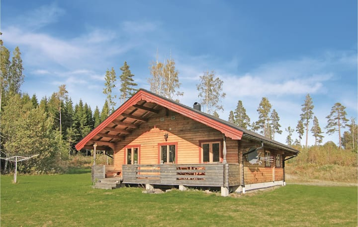 Nice home in Åsensbruk with Sauna and 3 Bedrooms