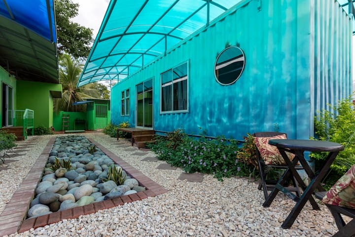 *BRAND NEW* Home Sweet Shipping Container! (BLUE)