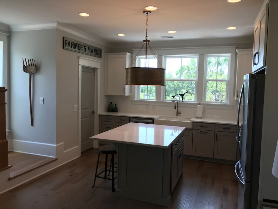 Open Kitchen with large island for gathering