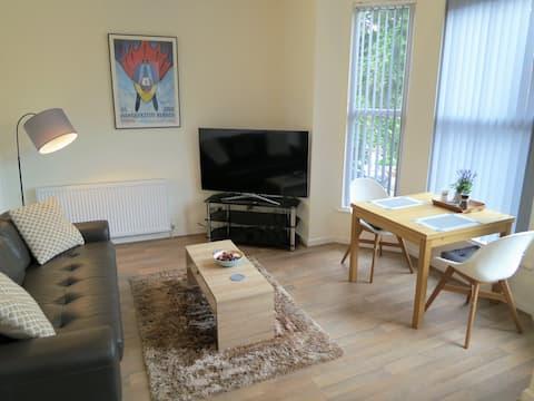 Apartamento Super elegante totalmente nuevo. West Didsbury.