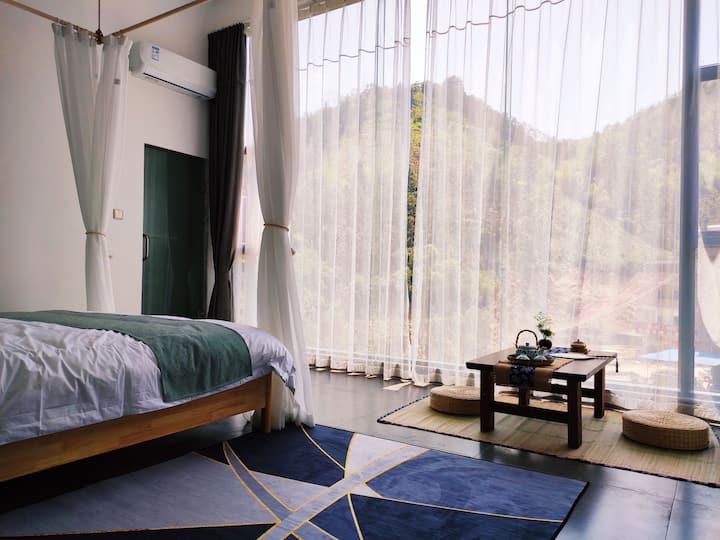 黄腾峡好景山庄-山景星空大床房302