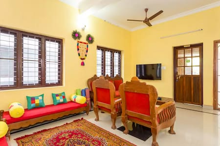 A/c Room (102) @ Sowparnika Hermitage, Fort Cochin - 科钦 - 宾馆
