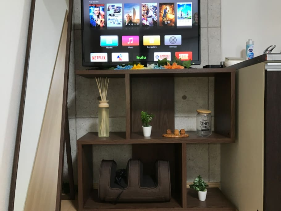 ☆Apple TV☆  ・You can watch youtube on TV.