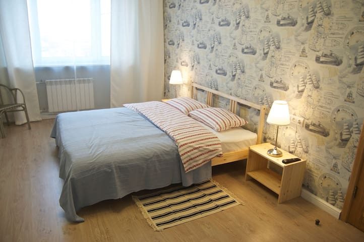 Spacious Room, Private Bathroom - Moskva