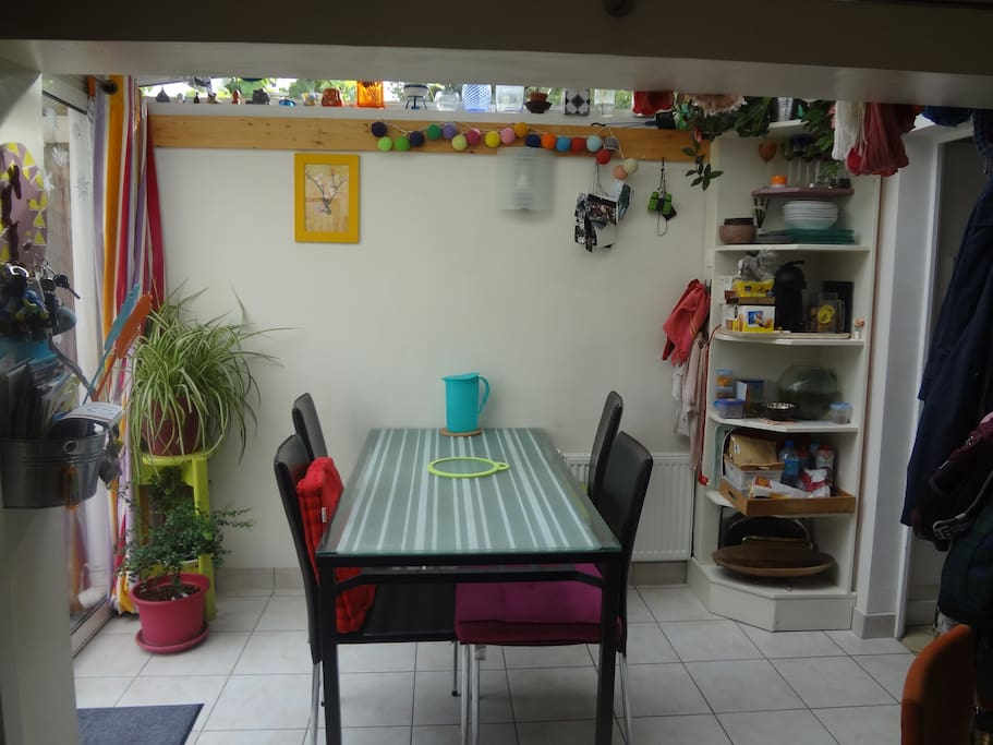 la salle à manger véranda