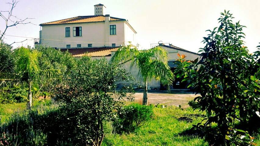 Stanza privata in masseria di campagna - Pontecagnano - Huis