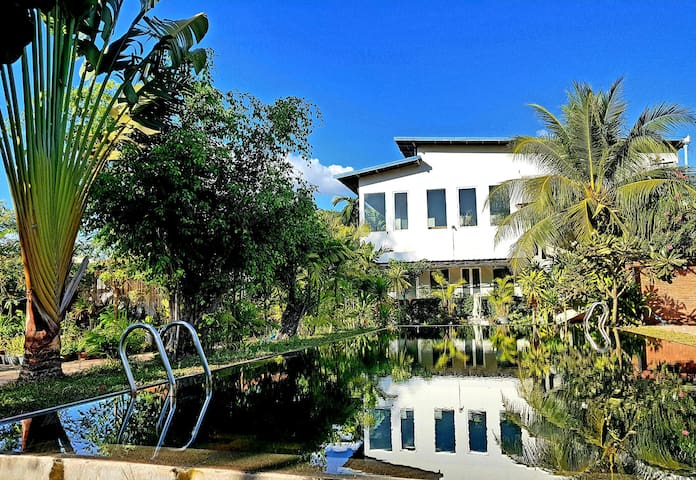 Villa Plumeria. Apartment Confort 02. 1 Double bed