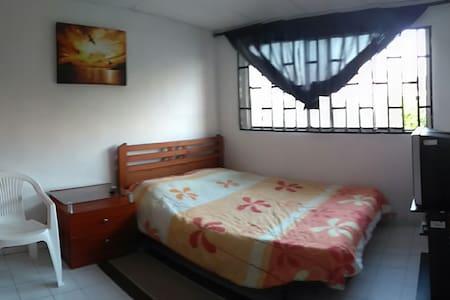 Habitación privada con cama doble - Cartagena