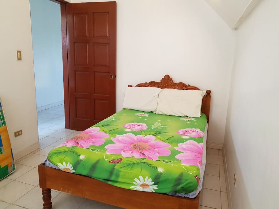 Room 1- double bed