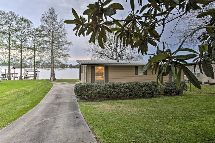 NEW! Charming Riverfront Getaway with Private Dock
