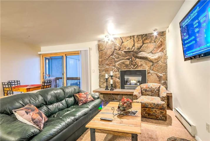 Beautiful Remodeled Steamboat Condo with Hot Tub! - Storm Meadows I 440