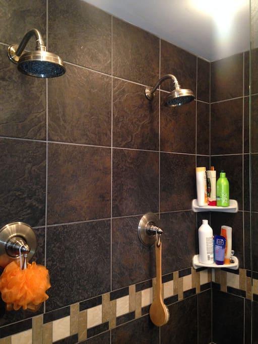 dual shower