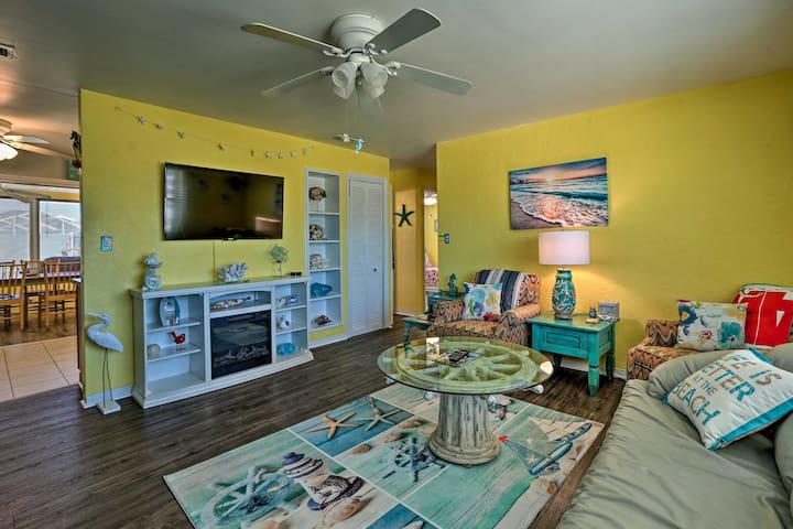 NEW! Vibrant Ormond Beach House - Walk to Ocean