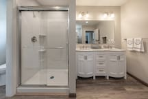 Lower Bathroom Shower Detail