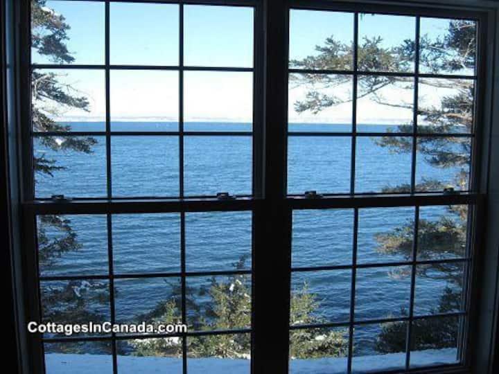 Oceanside cottage