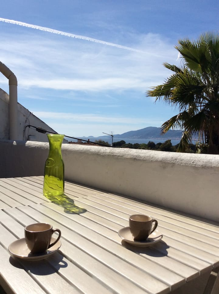 Appartment 43m2 with sea view