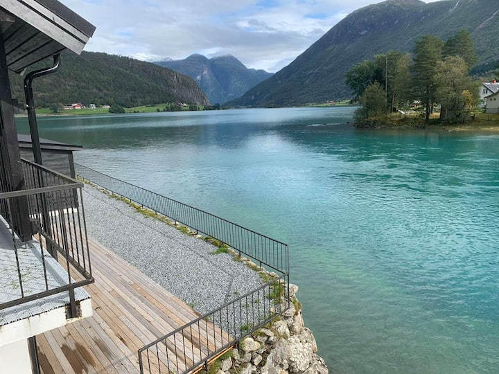 Water View Apartment D by Stryn Crystal Apartments