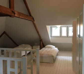 zolderkamer in hartje O'zaal Uniek - Oldenzaal - Rumah bandar