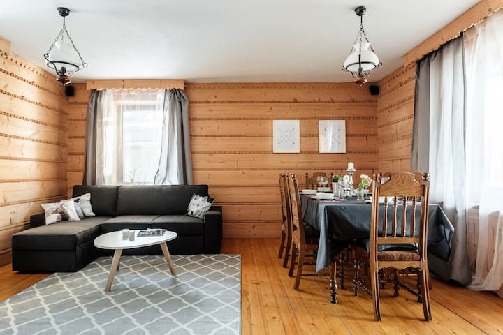 Apartament z Kominkiem i tarasem - Kościelisko
