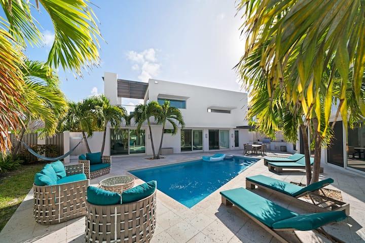 Fantastic Modern Ocean Pool Villa in Exuma