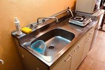 counter, gas stove/流理台,瓦斯爐