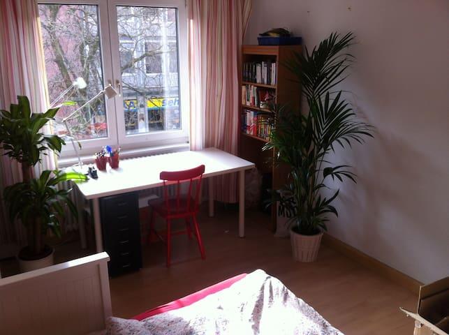 Doppelbettzimmer in der Innenstadt - Freiburg - Apartment