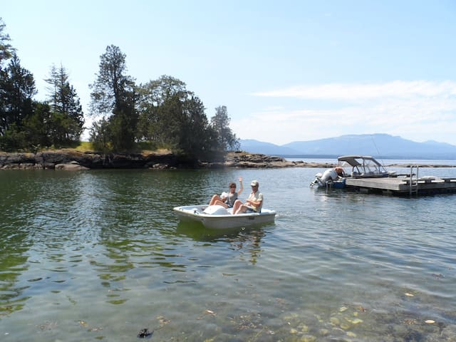 Nostra Casa -- private waterfront - Salt Spring Island - Talo