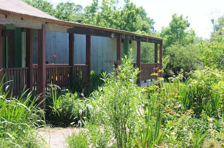 Casa de madera en plena naturaleza - Pilar - Huis
